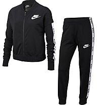 Nike Sportswear - tuta sportiva - bambina, Black
