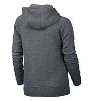 Nike Girls' Sportswear Modern Hoodie Giacca con cappuccio Bambina, Grey