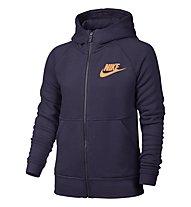 Nike Girls' Sportswear Modern Hoodie Giacca con cappuccio Bambina, Violett