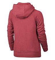 Nike Girls' Sportswear Modern Hoodie Sweatshirt Jacke Mädchen, Red