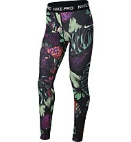 Nike Girls' Printed Tights Pro - Trainingshose - Mädchen, Multicolor