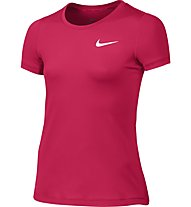 Nike Girls' Pro Cool Top Fitness/Training T-Shirt Mädchen, Pink