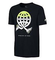 Nike Globey Air Max 95 Männer T-Shirt, Black/Volt/White