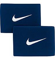 Nike Guard Stay II Fußball Schienbeinschoner-Riemen, Navy/White