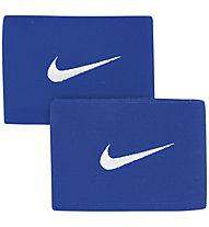 Nike Guard Stay II Fußball Schienbeinschoner-Riemen, Blue/White