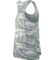 Nike Gym Vintage Tank - Trägershirt Fitness - Damen, Grey