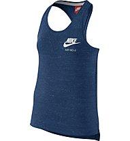 Nike Vintage - Trägershirt Top Fitness - Mädchen, Blue