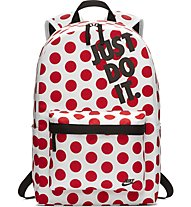 Nike Heritage Backpack - Rucksack, White/Red