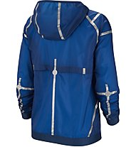 Nike Hooded Running Jacket - giacca con cappuccio running - donna, Blue