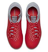 Nike Hypervenom 3 Academy DF JR FG - Fußballschuh feste Böden - Kinder, Orange/Grey