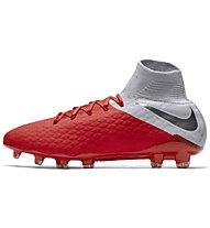 Nike Hypervenom 3 PRO DF FG - Fußballschuh Rasenplätze - Kinder, Orange/Grey