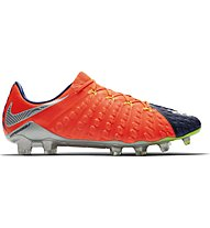 Nike Hypervenom Phantom 3 FG - Fußballschuh, Orange/Blue