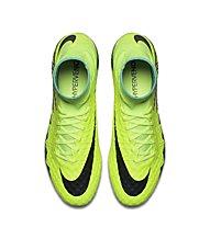 Nike HyperVenom Phantom II FG - scarpe da calcio terreni compatti, Volt/Black