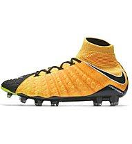 Nike Hypervenom Phantom III DF FG - Fußballschuhe, Orange/Black