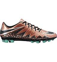 Nike Hypervenom Phatal II AG-R - scarpe da calcio, Brown/Black