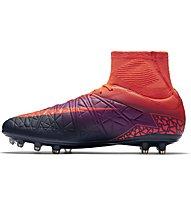 Nike HyperVenom Phatal II Dynamic Fit (FG) - scarpa da calcio terreni compatti, Crimson