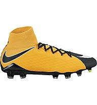 Nike Hypervenom Phatal III Dynamic Fit (FG) - Fußballschuh für festen Boden, Orange/Black/White