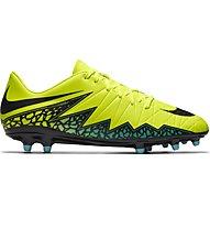 Nike Hypervenom Phelon II FG - Fußballschuhe fester Boden, Volt/Black