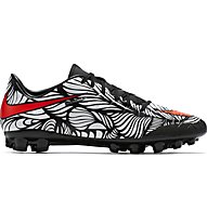 Nike Hypervenom Phelon II Neymar AG-R scarpa da calcio, Black/White