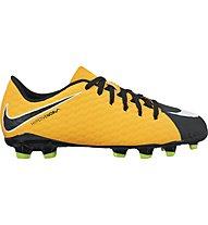 Nike Hypervenom Phelon III FG - Fußballschuhe - Kinder, Orange/Black/White