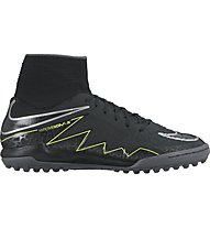 Nike Hypervenom X Proximo TF Jr Kinder-Fußballschuhe für synthetische Hartplätze, Black