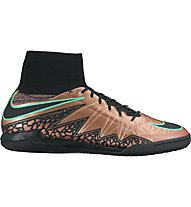 Nike HypervenomX Proximo IC - scarpe da calcio, Brown/Black/Green