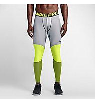 Nike Hyperwarm 5th Quarter Tights pantaloni intimi, Volt/Black/Volt