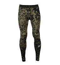 Nike Hyperwarm Dri-FIT Max Compression Ambush Tights, Cargo Khaki/Black/White