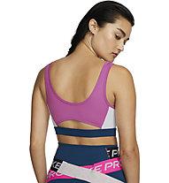 Nike Icon Clash Medium-Support Sports - reggiseno sportivo a supporto medio - donna, Pink/Blue
