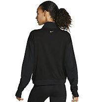 Nike Icon Clash W's Running - maglia running - donna, Black/Gold