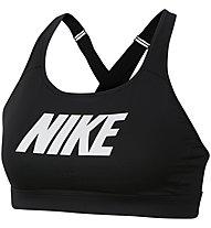 Nike Impact Strappy Sports - reggiseno sportivo a sostegno elevato - donna, Black
