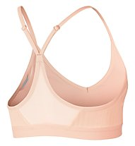 Nike Pro Indy - reggiseno sportivo a sostegno leggero, Rose