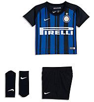 Nike Infants' Breathe Inter Milan Kit - Fußballtrikot-Set - Kleinkinder, Black/Blue