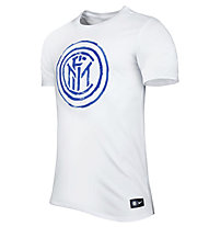 Nike Inter Mailand Crest T-Shirt, White