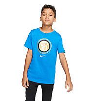 Nike Inter Evergreen Crest - maglia calcio - ragazzo, Blue