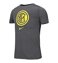Nike Inter Evergreen Crest - maglia calcio - ragazzo, Grey