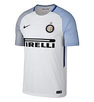 Nike Inter Milan Breathe Stadium Jersey Away - Fußballtrikot, White/Black