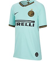 Nike Inter Milan 2019/20 Stadium Away Jr - Fußballtrikot - Jungen, Light Blue/Black