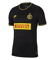 Nike Inter Milan 2019/20 Stadium Third - Fußballtrikot - Herren, Black/Yellow