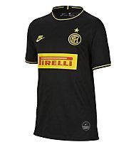 Nike Inter Milan 2019/20 Stadium Third - maglia calcio - ragazzo, Black/Yellow