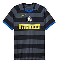 Nike Inter Milan 2020/21 Stadium Third Junior - maglia calcio - bambino, Grey/Yellow