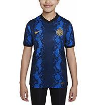 Nike Inter Milan 2021/22 Stadium - Fußballtrikot - Jungen, Light Blue