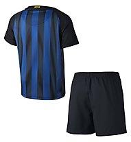Nike Inter Mailand Stadium Home Fußball-SET Kinder (Trikot+Shorts+Socken), Black/Blue