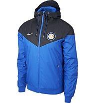 Nike Inter Milan - Fußballjacke mit Kapuze - Herren, Blue