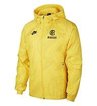 Nike Inter Milan Pirelli - Regenjacke Fußball - Herren, Yellow/Black