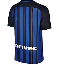 Nike Inter Mailand 2017/2017 Stadium Heimtrikot Breathe - Fußballtrikot - Herren, Black/Blue