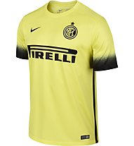 Nike Inter SS Decept Stadium JSY - maglia calcio Inter, Yellow/Black