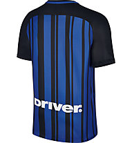 Nike Kid's Nike Breathe Inter Mailand Heimtrikot 2017/2018 - Fußballtrikot - Kinder, Blue/Black