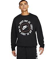 Nike JDI - maglione - uomo, Black