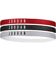 Nike Jordan - fasce per capelli, Red/Black/Grey